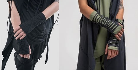 перчатки-безпальцовки